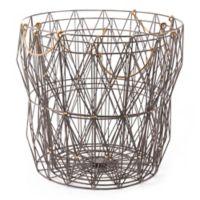 Zuo® Modern Antique Wire Storage Baskets (Set of 3)