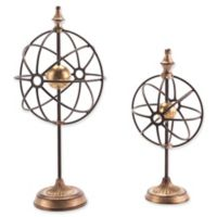 Zuo® Globes with Pedestal (Set of 2)
