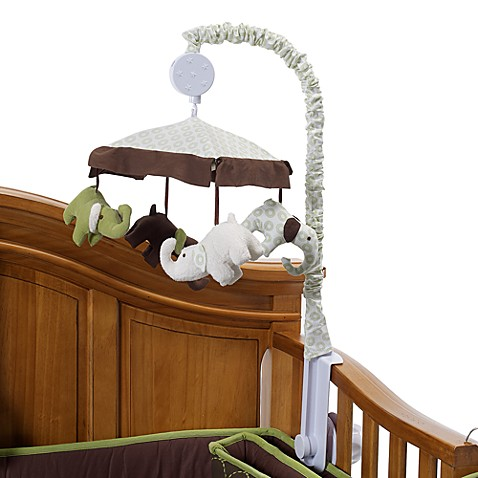 Carter's jungle collection musical mobile. This musical mobile will help soothe your little one to sleep, gently spins while playing Brahms Lullaby. Features miss giraffe and her sweet safari friends in shades of pink, tan, white, and light green. Coordinates with Carter's jungle collection bedding/5().