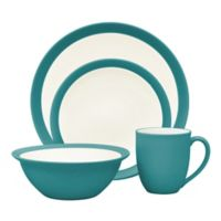 Noritake® Colorwave Curve 4-Piece Place Setting in Turquoise