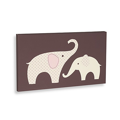 Wall Decor Carter 39 S Pink Elephant Canvas Wall Art From