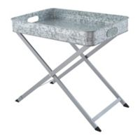 Artland OASIS Folding Tray on Stand in Silver