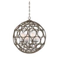 Filament Design Chateau 4-Light Pendant in Linen
