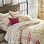 UGG® Monterey Plaid Chambray Reversible Full/Queen Comforter Set in Red