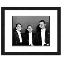 Photo File Kennedy Brothers 22-Inch x 26-Inch Framed Photo Wall Art