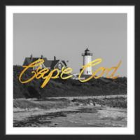 "Marmont Hill Great Expectations ""Cape Cod"" 48-Inch Square Framed Wall Art"