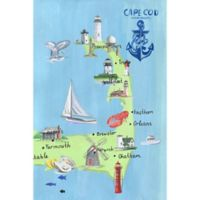 Marmont Hill Cape Cod Adventures 12-Inch x 18-Inch Canvas Wall Art