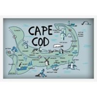Marmont Hill Explore Cape Cod 18-Inch x 12-Inch Canvas Wall Art with Shadow Box