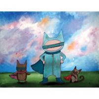 Marmont Hill Masked Heroes 39-Inch x 30-Inch Canvas Wall Art