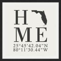 Marmont Hill Florida Home 48-Inch sq. Framed Wall Art