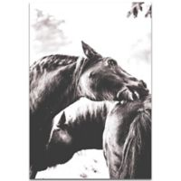 Metal Art Studio Horse Nibble 22-Inch x 32-Inch Metal Wall Art