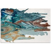 Metal Art Studio Earth 1 Abstract 32-Inch x 22-Inch Pexiglass Wall Art