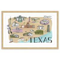 Marmont Hill Big Texas 24-Inch x 16-Inch Framed Wall Art