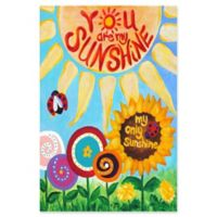 Marmont Hill My Only Sunshine 12-Inch x 18-Inch Canvas Wall Art