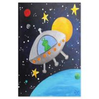 Marmont Hill Green Alien 40-Inch x 60-Inch Canvas Wall Art