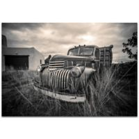 Metal Art Studio Americana Farm Truck Metal Wall Art