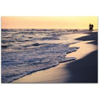 Metal Art Studio Beach Stroll 32-Inch x 22-Inch Wall Art in Metal