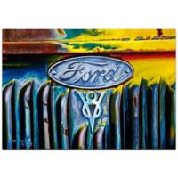 Metal Art Studio Americana Forever Ford 32-Inch x 22-Inch Metal Wall Art