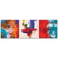 Metal Art Studio Urban Triptych V 38-Inch x 12-Inch Metal Wall Art