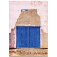 Metal Art Studio Blue Door 22-inch x 32-Inch Plexiglas Wall Art