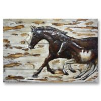 Benjamin Parker Travelling Companions Metal on Wood Wall Art
