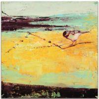 "Metal Art Studio Janice Snugg 22-Inch Square ""Bird on a Horizon"" Metal Wall Art"