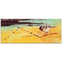 "Metal Art Studio Janice Snugg 19-Inch x 48-Inch ""Bird on a Horizon"" Metal Wall Art"