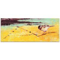 "Metal Art Studio Janice Snugg 19-Inch x 48-Inch ""Bird on a Horizon"" Plexiglass Wall Art"
