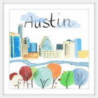 Marmont Hill Colorful Austin 24-Inch Square Framed Wall Art