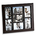 7-Opening Collage Frame in Brown