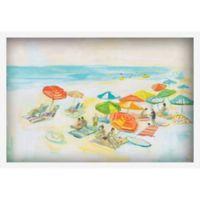 Marmont Hill Beach Diversity 60-Inch x 40-Inch Framed Wall Art