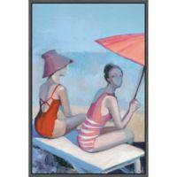 Marmont Hill Beach Elegance 30-Inch x 45-Inch Framed Wall Art