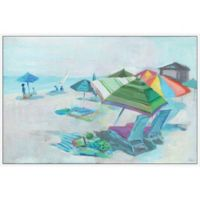 Marmont Hill Taking a Break 24-Inch x 16-Inch Canvas Wall Art