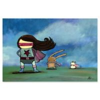 Marmont Hill Super Heroes 24-Inch x 16-Inch Canvas Wall Art