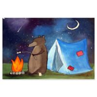 Marmont Hill Toasting Marshmallows 18-Inch x 12-Inch Canvas Wall Art