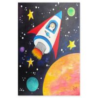 Marmont Hill Rocket Ship 40-Inch x 60-Inch Canvas Wall Art