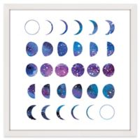 Marmont Hill Moon Phases 2 32-Inch Square Framed Wall Art