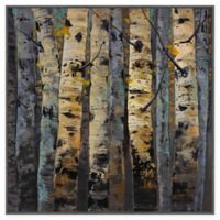 Marmont Hill Gold Infusion II 20-Inch Square Framed Canvas Wall Art
