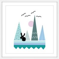 Marmont Hill Teepee Patterns 48-Inch Square Framed Wall Art