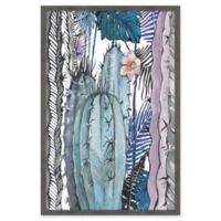 Marmont Hill Cactus Party 24-Inch x 36-Inch Framed Wall Art