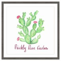 """Marmont Hill """"Prickly Pear Cactus"""" II 40-Inch Square Framed Wall Art"""