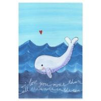 Marmont Hill More Than Waves 12-Inch x 18-Inch Canvas Wall Art