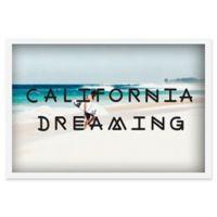 Marmont Hill Dreaming in California 12-Inch x 18-Inch Shadow Box Wall Art
