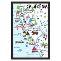 "Marmont Hill ""Diverse California II"" 12-Inch x 18-Inch Framed Wall Art"