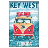 "Marmont Hill ""Key West Bus"" 30-Inch x 45-Inch Shadow Box Wall Art"