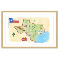 Marmont Hill Sun and Sand Texas 30-Inch x 20-Inch Framed Wall Art