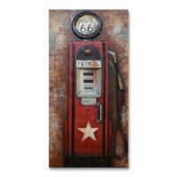 Route 66 Petrol Metal Wall Art