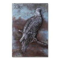 Eagle At Rest Metal Wall Art