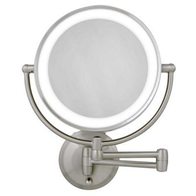 Wall Mount Magnifying Mirror buy wall mounted vanity mirror from bed bath & beyond