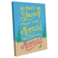 Astra Art Always Be Yourself 14-Inch x 11-Inch Canvas Wall Art